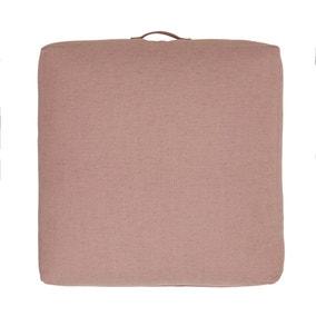 Chenille Blush Slub Floor Cushion