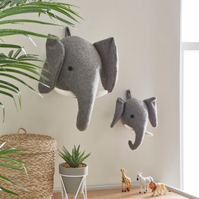 Elephant Wall Head