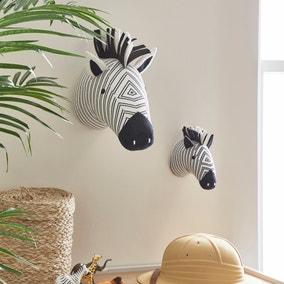 Zebra Wall Head