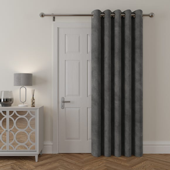 Stellar Thermal Charcoal Door Curtain  undefined