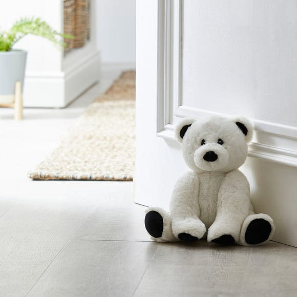 Polar Bear Doorstop White