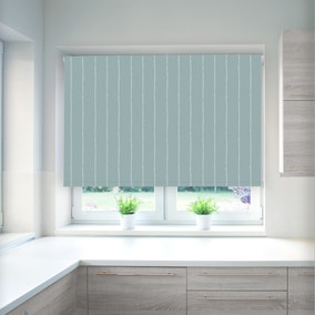 Tracery Drizzle Blackout Roller Blind