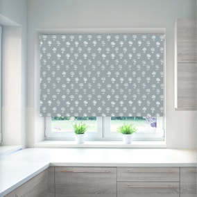 Agapanthus Twiglight Blackout Roller Blind
