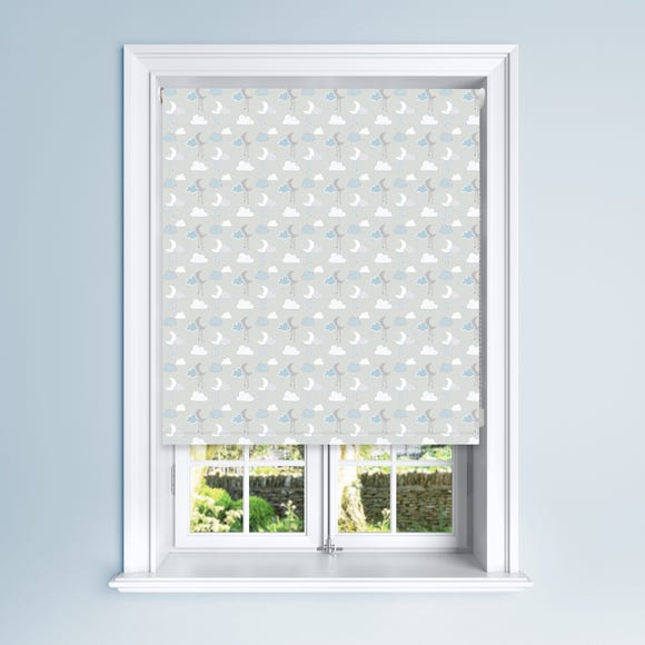 Blue Cloudscape Blackout Roller Blind Blue undefined