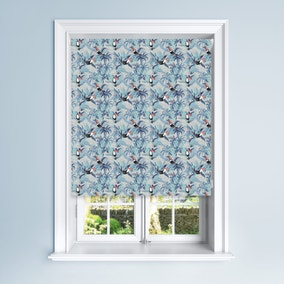 Blue Toucan Blackout Roller Blind