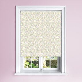 Summer Floral Blackout Roller Blind