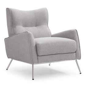 Chloe Accent Chair - Grey