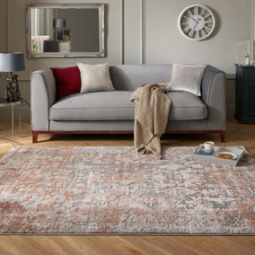 Reign Rust Traditional Rug