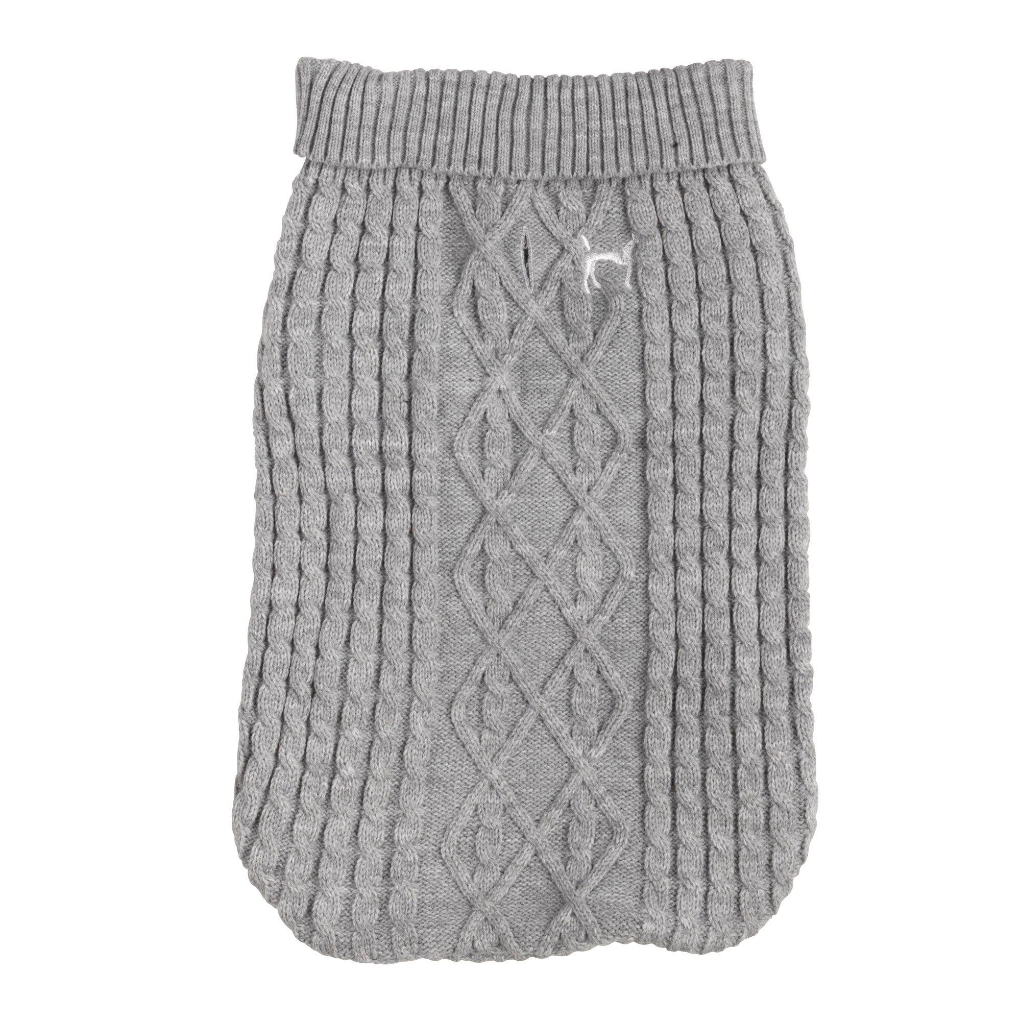 House of Paws Grey Dog Jumper Grey