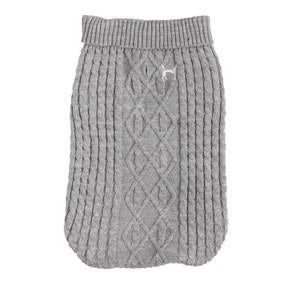 House of Paws Grey Dog Jumper