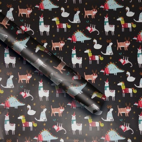 6m Party Animals Extra Wide Recyclable Wrap