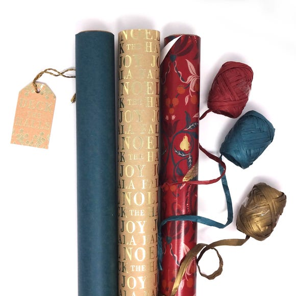 Recyclable Wrapping Bundle Red