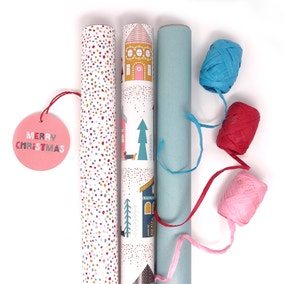 Festive Folk Compendium Recyclable Wrapping Bundle