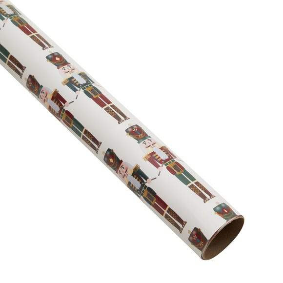 3m Recyclable Nutcracker Wrapping Paper MultiColoured