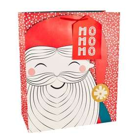 Santa Extra Large Recyclable Gift Bag