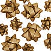Pack of 25 Crafted Christmas Assorted Recyclable Bows Gold