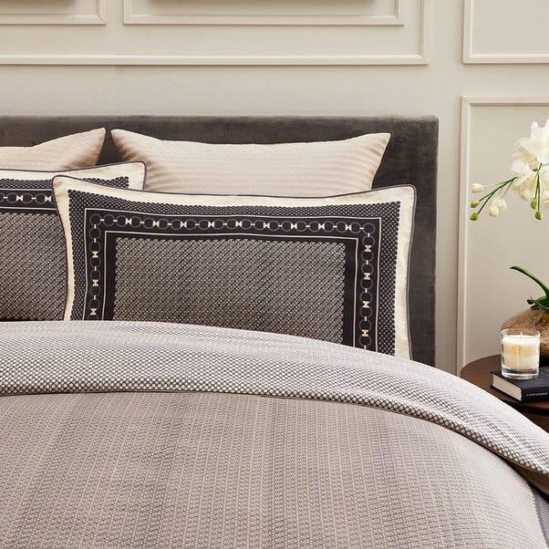 Dorma Abbotswood Housewife Pillowcase Pair Natural
