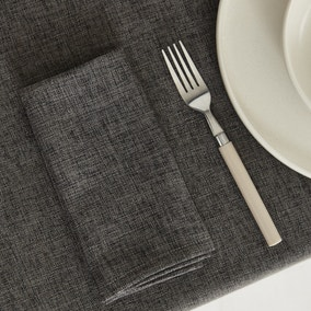 Pack of 4 Vermont Charcoal Napkins