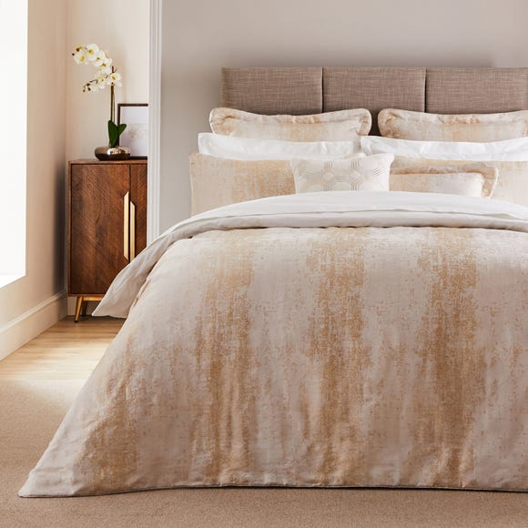 Dorma Purity Corinthia Duvet Cover and Pillowcase Set  undefined