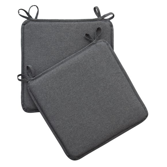Charcoal Pack of 2 Waterproof Seat Pads Charcoal