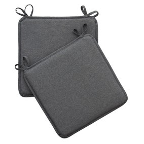 Charcoal Pack of 2 Waterproof Seat Pads