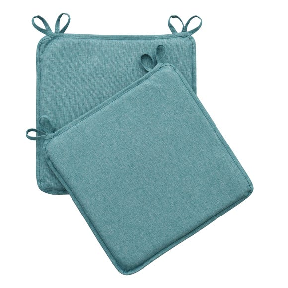 Green Pack of 2 Waterproof Seat Pads Green