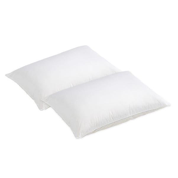 Dormeo Silver Pillow Pair White