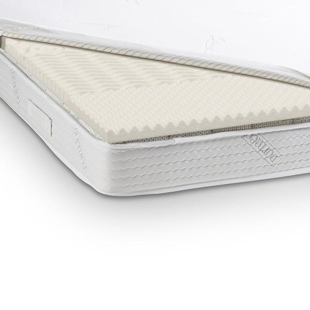 Dormeo Renew Zoned Memory Foam Mattress Topper White undefined
