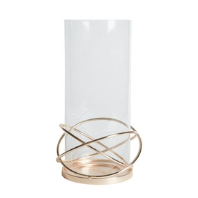 Dorma Circle Champagne Large Lantern