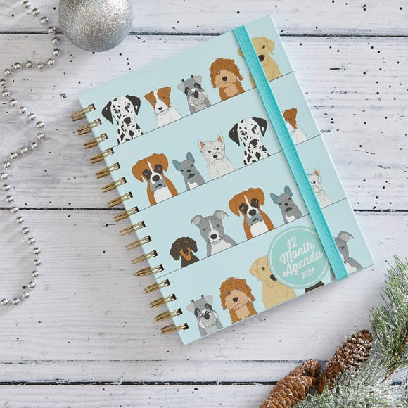 Dogs Notebook MultiColoured