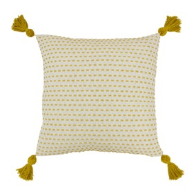 Ezra Ochre Cushion