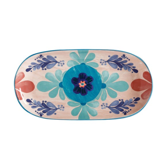 Maxwell & Williams Peach Majolica Platter MultiColoured