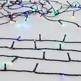 200 LED Multi Coloured Chain Lights
