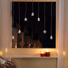 15L WW LED Star Curtain Lights BO