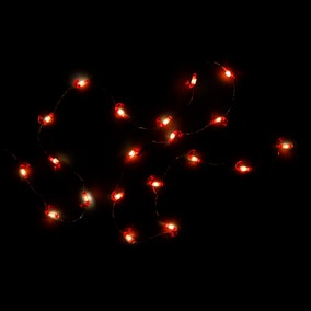 20pc String Lights Candy Cane