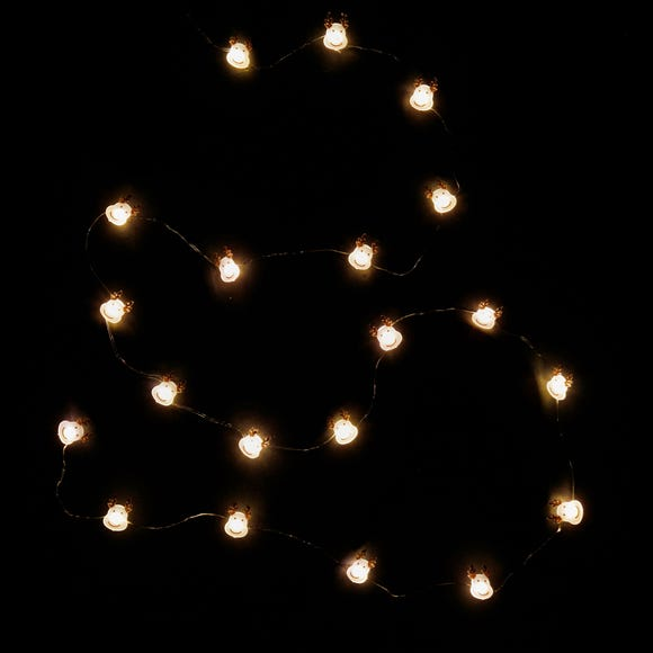 20pc String Lights Reindeer Warm White