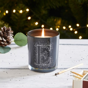 Letter Monogram Scented Candle