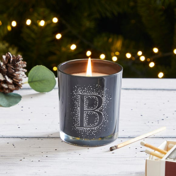 Monogram Scented Candle