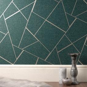Quartz Emerald Fractal Wallpaper