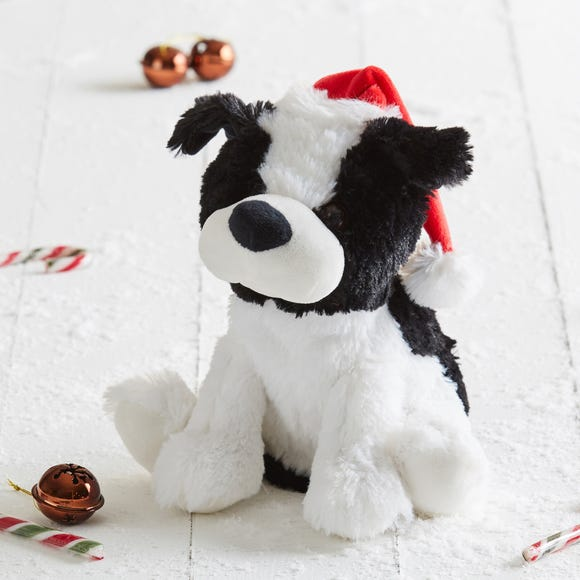 Silly & Wild Animated Puppy Black and white