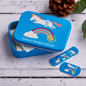 Magical Unicorn Plasters In A Tin