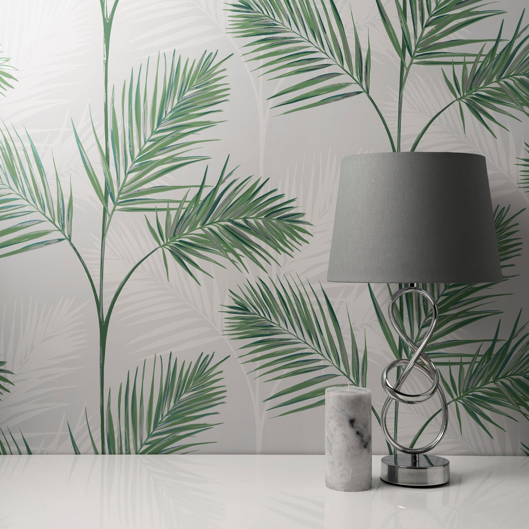 Click to view product details and reviews for South Beach Stone Wallpaper Green Grey And White.