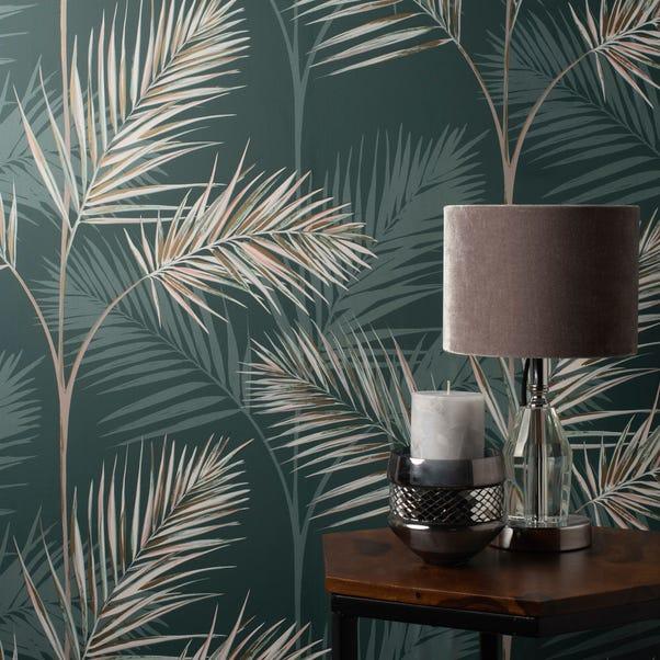 South Beach Emerald Wallpaper Green