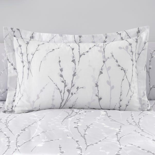Belle Grey Oxford Pillowcase
