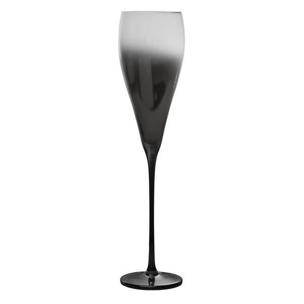 Ombre Champagne Flute Black