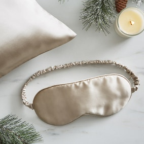 Dorma Purity Ivory Silk Eye Mask