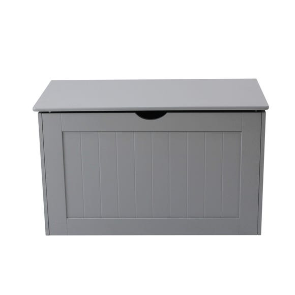 Grey Shaker Blanket Box Grey