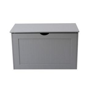 Grey Shaker Blanket Box