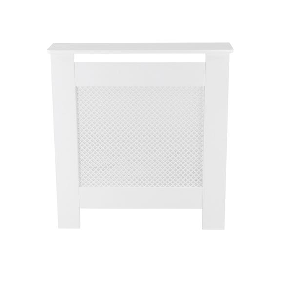 White Diamond Mini Radiator Cover White