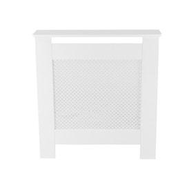 White Diamond Mini Radiator Cover